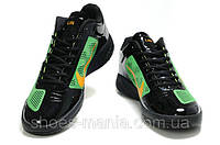 Кроссовки Nike Zoom Hyperfuse Low (black-green-orange)