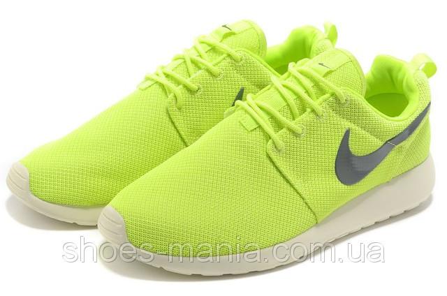 the latest cba18 b8a5f Кроссовки Nike Roshe Run салатовые - Интернет магазин обуви Shoes-Mania в  Днепре