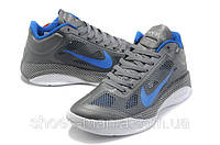 Кроссовки Nike Zoom Hyperfuse Low (grey-blue-white)