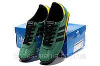 Кроссовки мужские Adidas Originals Dragon Черно-зеленые