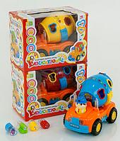 "Детская игрушка машинка ""Бетономешалка"" 2206 А КК"