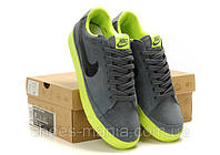 Кроссовки Nike Blazer Low (darkgrey-green)