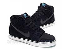 Кроссовки Nike Dunk High 6.0 черные, фото 1