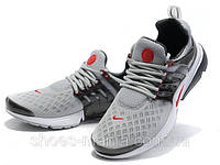 Кроссовки Nike Air Presto (grey-red), фото 1