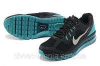 Кроссовки Nike Air Max 2013 черно-голубые