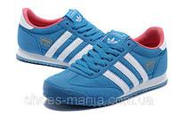 Кроссовки мужские Adidas Originals Dragon синие А-100010-2
