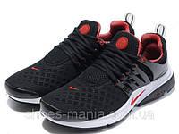 Кроссовки Nike Air Presto (черно-красные)