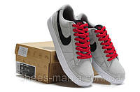 Кроссовки Nike Blazer Low (grey-black)