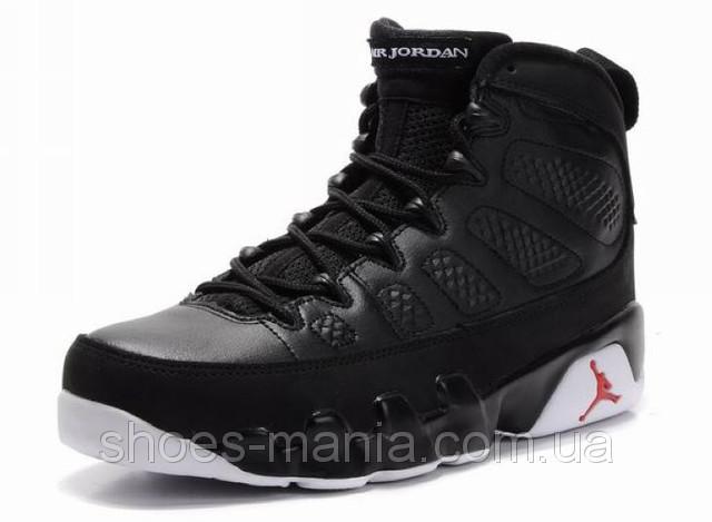 Баскетбольные кроссовки Nike Air Jordan 9 (black) - Интернет магазин обуви  Shoes-Mania f208009564ada