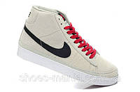 Кроссовки Nike Blazer High (grey-black)