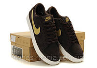 Кроссовки Nike Blazer Low (darkbrown)