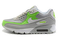 Женские Nike Air Max 90 grey-green, фото 1