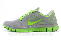 Женские кроссовки Nike Free 5.0 (grey-green), фото 1