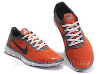 Мужские кроссовки Nike Free 3.0 (orange)