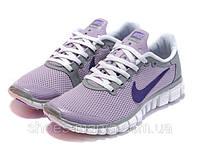 Женские кроссовки Nike Free 3.0 фиолетовые