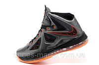 Баскетбольные кроссовки Nike Lebron (grey-orange)