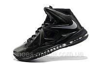 Баскетбольные кроссовки Nike Lebron черные N-10063-9, фото 1