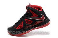 Баскетбольные кроссовки Nike Lebron black-red, фото 1
