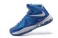 Баскетбольные кроссовки Nike Lebron синие, фото 1