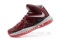 Баскетбольные кроссовки Nike Lebron красные, фото 1