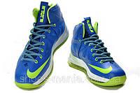 Баскетбольные кроссовки Nike Lebron (blue-green), фото 1