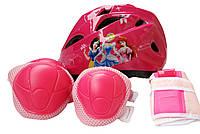 """Детская защита """"Принцессы Дисней"""", шлем + защита для локтей, колен и запястья"""