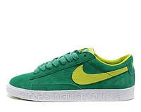 Женские кроссовки Nike Blazer Low green, фото 1