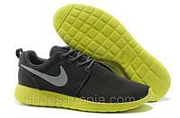 Женские кроссовки Nike Roshe Run (darkgrey-green), фото 1