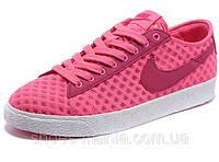 Женские кроссовки Nike Blazer Low Mesh pink, фото 1