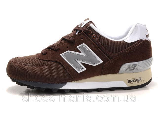Мужские кроссовки New Balance 576 коричневые - Интернет магазин обуви  Shoes-Mania в Днепре 992ecd52e35