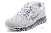 Женские кроссовки Nike Air Max 2013 белые, фото 1