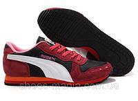 Женские кроссовки Puma trionfo красно-белые, фото 1