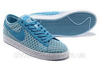 Женские кроссовки Nike Blazer Low Mesh blue