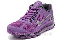 Женские кроссовки Nike Air Max 2013 фиолетовые, фото 1
