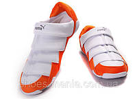 Женские кроссовки Puma Lazy Insect Low white-orange, фото 1