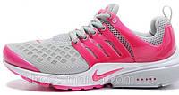 Женские кроссовки Nike Air Presto (grey-pink)
