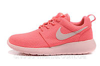 Женские кроссовки Nike Roshe Run розовые, фото 1