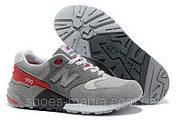 Женские кроссовки New Balance 999 (grey-red-white)