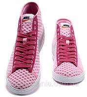 Женские кроссовки Nike Blazer Mid Mesh (pink), фото 1