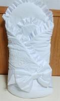 Конверт-одеяло на флисе Flavien 1032 велюр, зима
