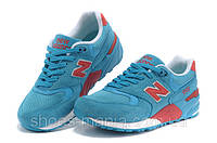 Женские кроссовки New Balance 999 (blue-red-white), фото 1