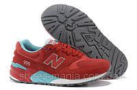 Женские кроссовки New Balance 999 красные