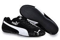 Женские кроссовки puma future cat черно-белые