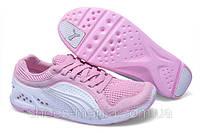 Кроссовки женские puma pink-white