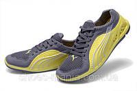Кроссовки женские Puma grey-yellow, фото 1
