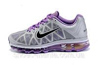 Женские кроссовки Nike Air Max 2011 (grey-violet), фото 1