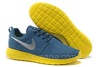 Женские кроссовки Nike Roshe Run (blue-yellow), фото 1