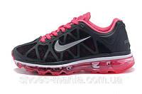 Женские Nike Air Max 2011 (black-pink), фото 1