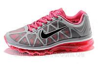 Женские Nike Air Max 2011 (grey-pink), фото 1