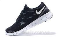Женские кроссовки Nike Free Run 2 (black-white)